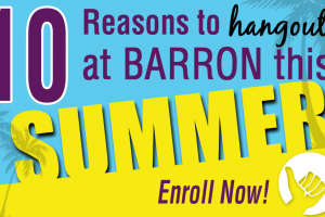 10 Reasons to Hang Out at Barron Gymnastics this Summer
