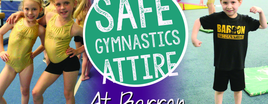 Safe Gymnastics Attire
