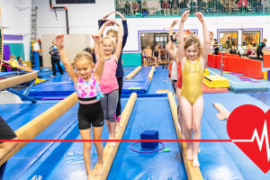 Gymnastics is Good for Your Heart